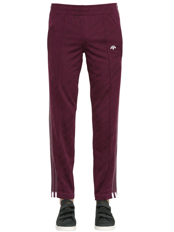 Adidas Originals By Alexander Wang Men S Purple Trefoil