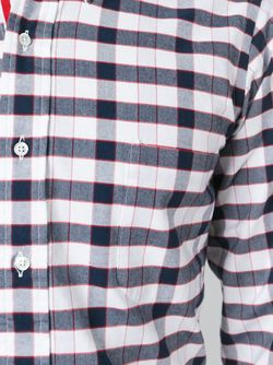 Checked Shirt Thom Browne                                                                                                              multicolor color