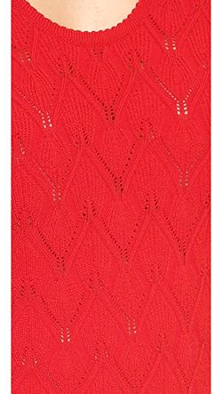 Acanthus Dress Yigal Azrouel                                                                                                              Carmine color