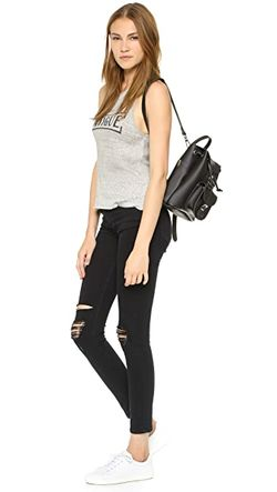 Fatigue Crop Tank Zoe Karssen                                                                                                              gray color