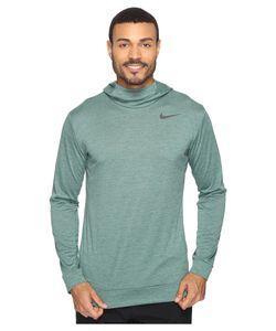 Nike   Dry Training Hoodie Seaweed/ Stone/ Mens Clothing