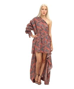 Vivienne Westwood Gold Label | Luna Dress Red/Blue Womens Dress