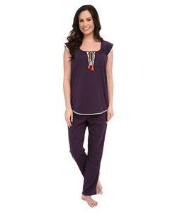 Lucky Brand | Knit Tassel Pajama Fig Womens Pajama Sets