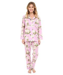 Bedhead | Classic Pajamas Voile Purple Hydrangea Womens Pajama Sets