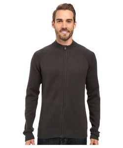 Ecoths | Nolan Sweater Dark Shadow/Stormy Sea Mens Long Sleeve Pullover