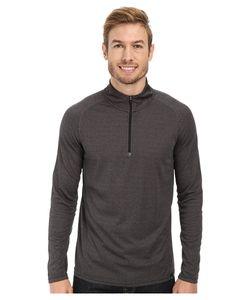 PRANA   Orion 1/4 Zip Charcoal Mens Sweater