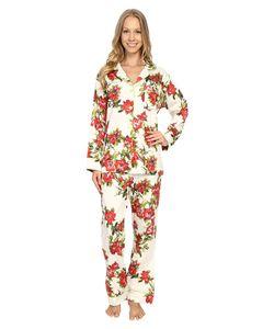 Bedhead | Classic Pajamas Voile Coral Hibiscus Womens Pajama Sets