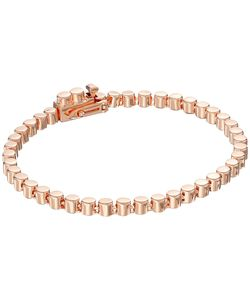 Eddie Borgo | Small Cylinder Link Bracelet Rose Bracelet