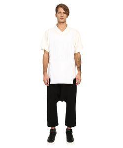 D.Gnak   Traditional Collar Layered T-Shirt Mens T Shirt