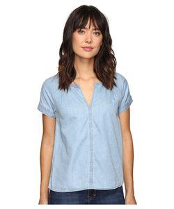 Calvin Klein Jeans | Indigo V Popover Short Sleeve Woven Shirt