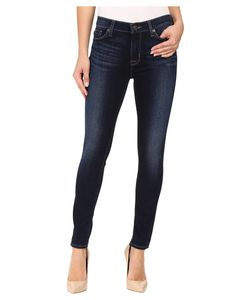 Hudson   Nico Mid-Rise Super Skinny In Corps Corps Womens Jeans