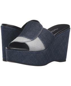 Newbark | Louisa Wedge Denim Womens Shoes