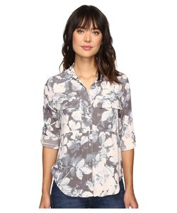 Calvin Klein Jeans | Muted Utility Printed Long Sleeve Woven Shirt