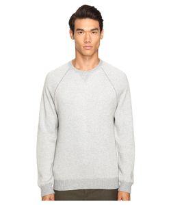 Vince   Crew Heather Steel Mens Sweater