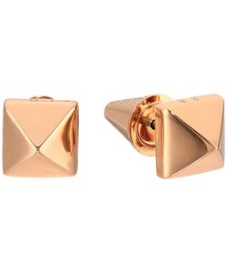 Eddie Borgo | Pyramid Stud Earrings Rose Earring