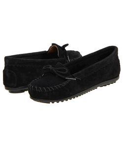 Minnetonka | Suede Skimmer Moc Suede Womens Flat Shoes