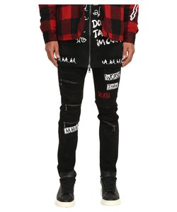 Haculla | Distressed Patch Jeans Mens Jeans