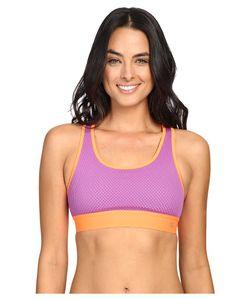Champion | Mesh Freedom Racerback Amethyst Glaze/Electric Orange Womens Workout