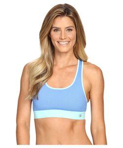 Champion | Mesh Freedom Racerback Windchill /Viridian Mint Womens Workout