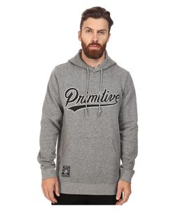 Primitive | Built Stronger Pullover Grey Heather Mens Clothing