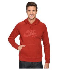 Nike SB | Sb Icon Dots Pullover Hoodie Dark Cayenne/Light Crimson