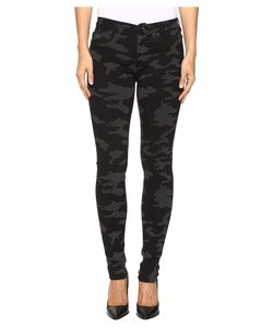 Hudson   Nico Mid-Rise Skinny In Out Camo Out Camo Womens