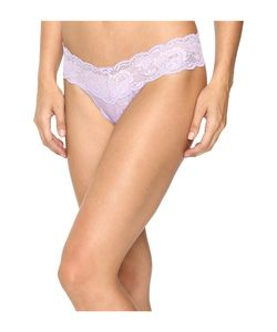 Cosabella   Never Say Never Cutie Lowrider Thong Lavender Womens Underwear