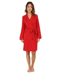 Lauren Ralph Lauren | Essentials Quilted Collar And Cuff Robe Holiday