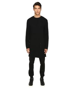 D.Gnak   Knitted Long Pullover / Mens Sweater