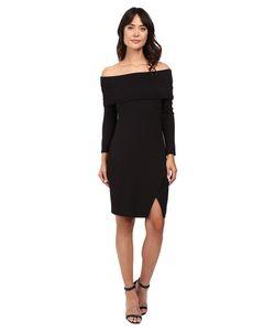 Michael Stars   Off The Shoulder Cross Front Dress Womens