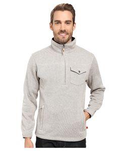 Mountain Khakis   Old Faithful Qtr Zip Sweater Oatmeal Mens Sweater