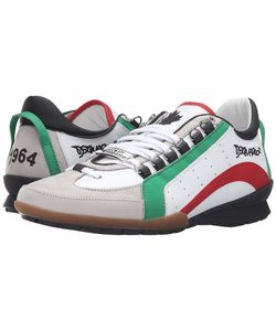 DSquared² | 551 Low Top Sneaker Verde Rosso Mens Shoes