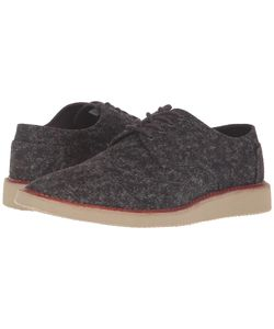 TOMS | Brogue Marled Textile Mens Lace Up Casual Shoes