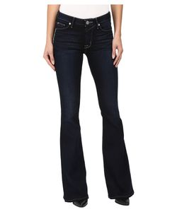 Hudson   Mia Five-Pocket Mid-Rise Flare In Night Vision Night Vision