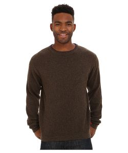Mountain Khakis   Lodge Crew Neck Sweater Coffee Mens Sweater