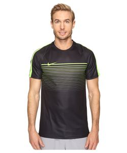 Nike   Dry Squad Short Sleeve Soccer Top /Electric /Electric