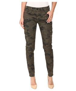 Hudson   Colby Ankle Moto Skinny Cargo In Rustic Camo Rustic