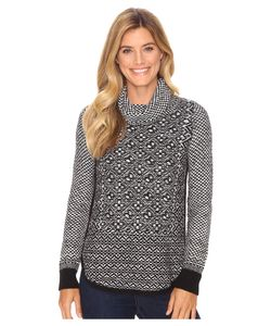 Lucky Brand | Side Zip Pattern Turtleneck / Womens Clothing