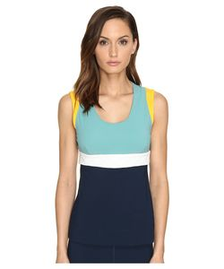 No Ka' Oi | No Kaoi Moku Sleeveless Saffron/Aloe/Ice/Marine Womens Sleeveless