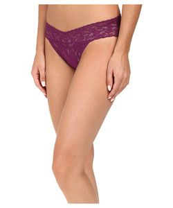 Hanky Panky   Signature Lace V-Kini Fine Wine Womens Underwear