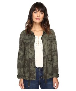 Calvin Klein Jeans | Printed Utility Field Outerwear Peat Womens Coat
