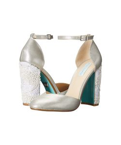 Blue by Betsey Johnson | Sybil Shimmer High Heels
