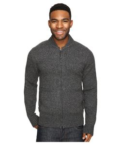 Royal Robbins   First Fleet Merino Full Zip Sweater Charcoal Mens