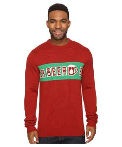 Volcom   Strange Brew Ugly Sweater Blood Mens Sweater