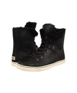 UGG | Croft Twinface/Leather Womens Lace-Up Boots