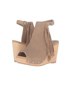 Volatile | Venstra Sand Womens Wedge Shoes