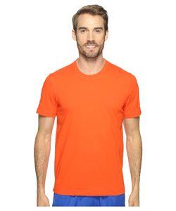 Adidas | Essentials Droptail 3-Stripes Tee Energy S17/ Mens Short Sleeve