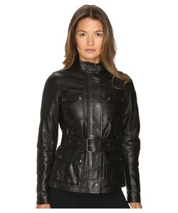 Belstaff | Triumph 2.0 Signature Hand Waxed Leather Jacket Womens