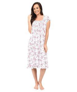 Eileen West   Cap Sleeve Waltz Nightgown Ground/Rudy Multi