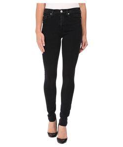 Hudson   Barbara High-Rise Super Skinny In Bazooka Bazooka Womens Jeans